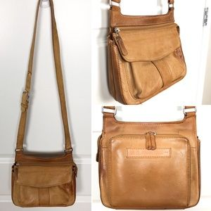 Fossil | Distressed Leather Messenger Bag M06